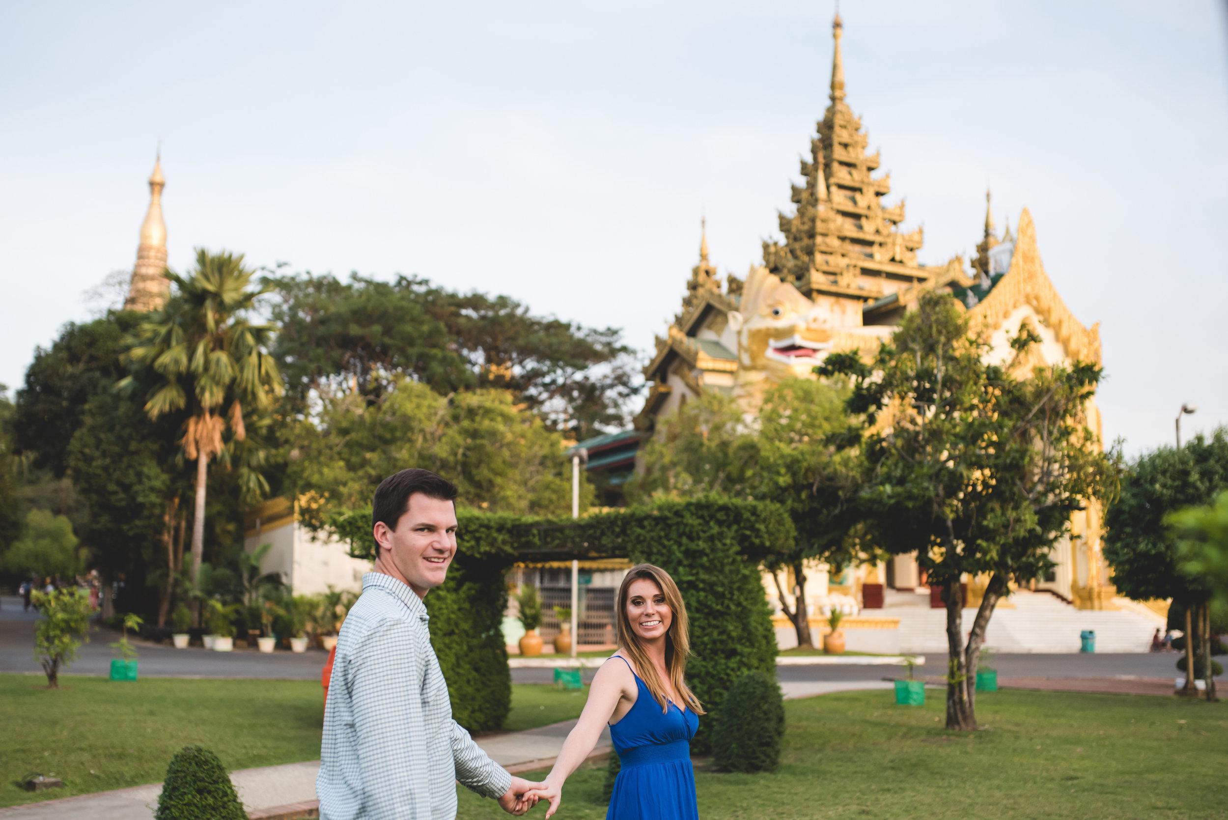 Captured in Yangon for Flytographer