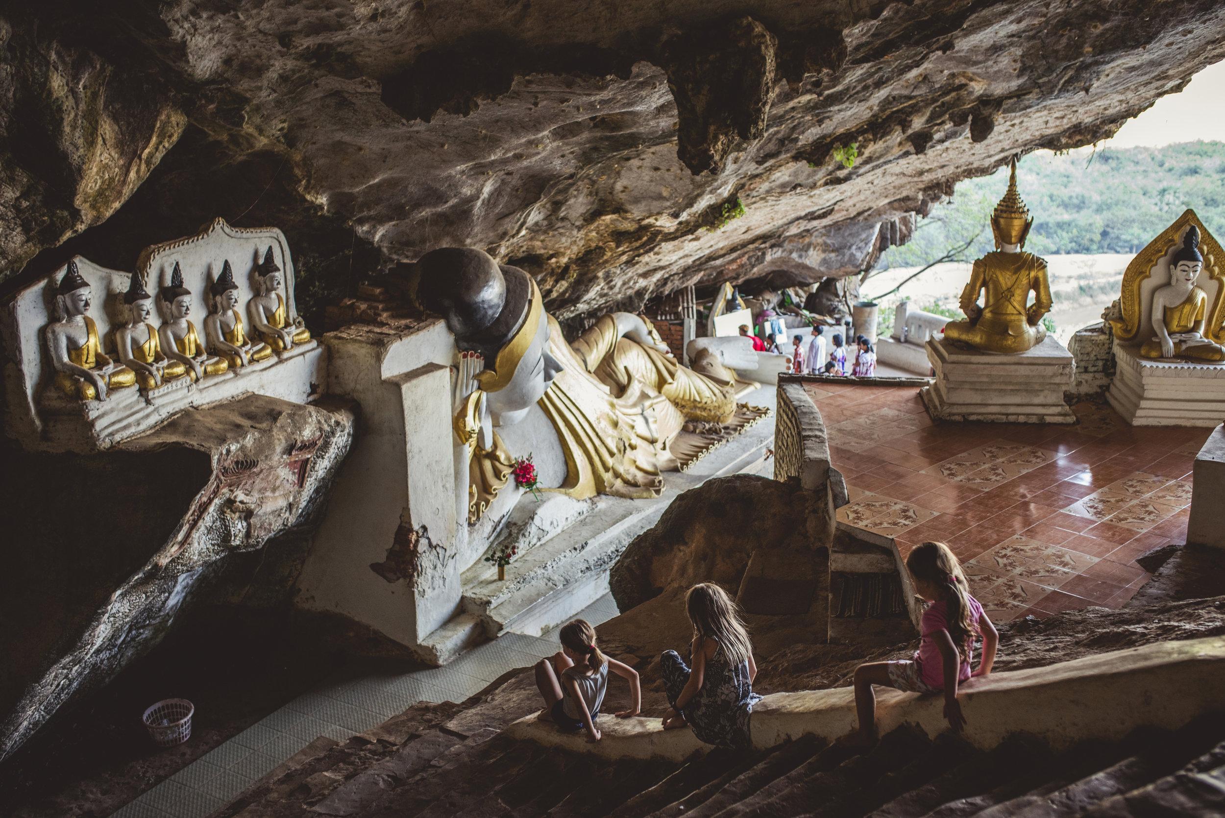 Exploring Yathaypyan Cave