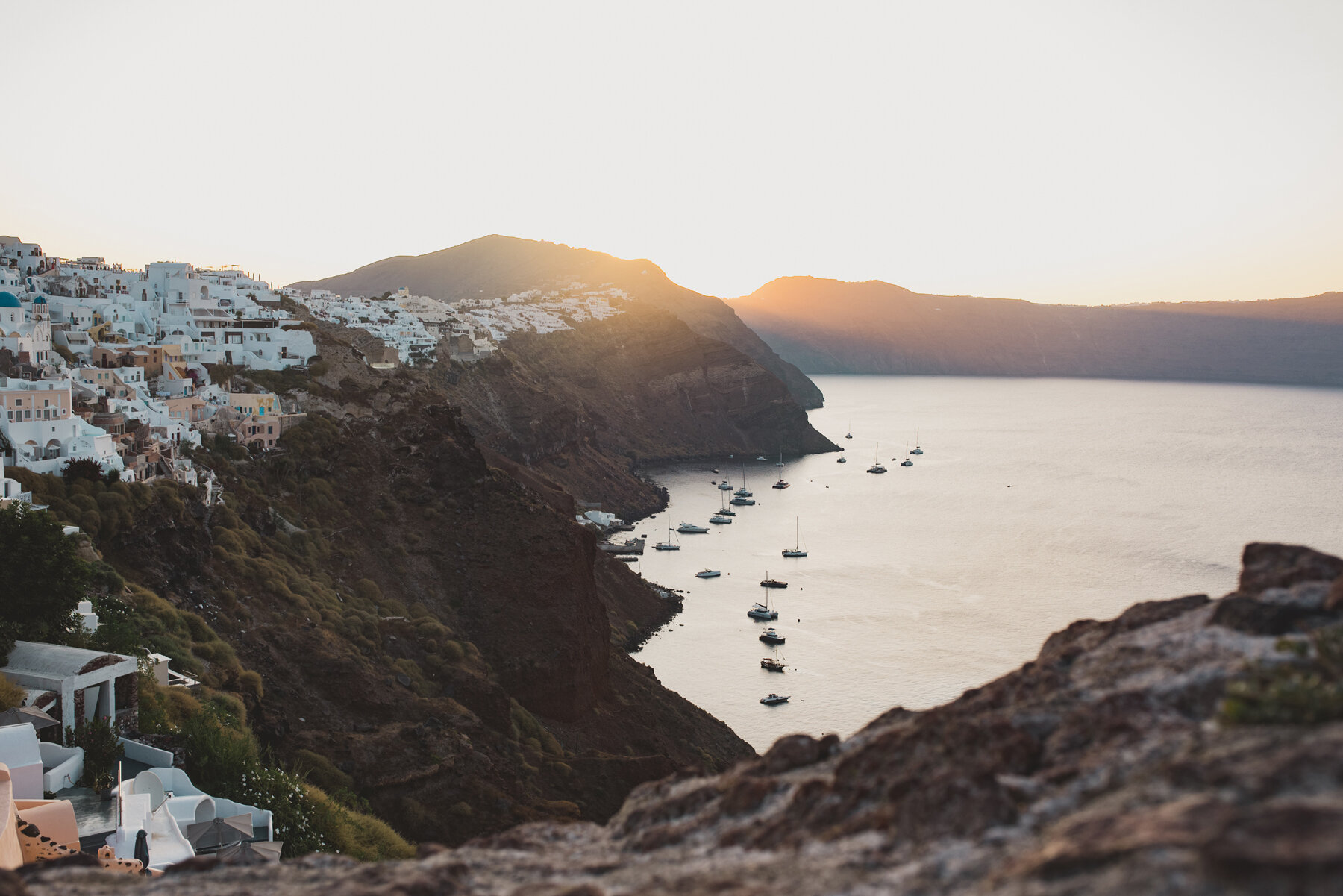 Oia sunrise photo