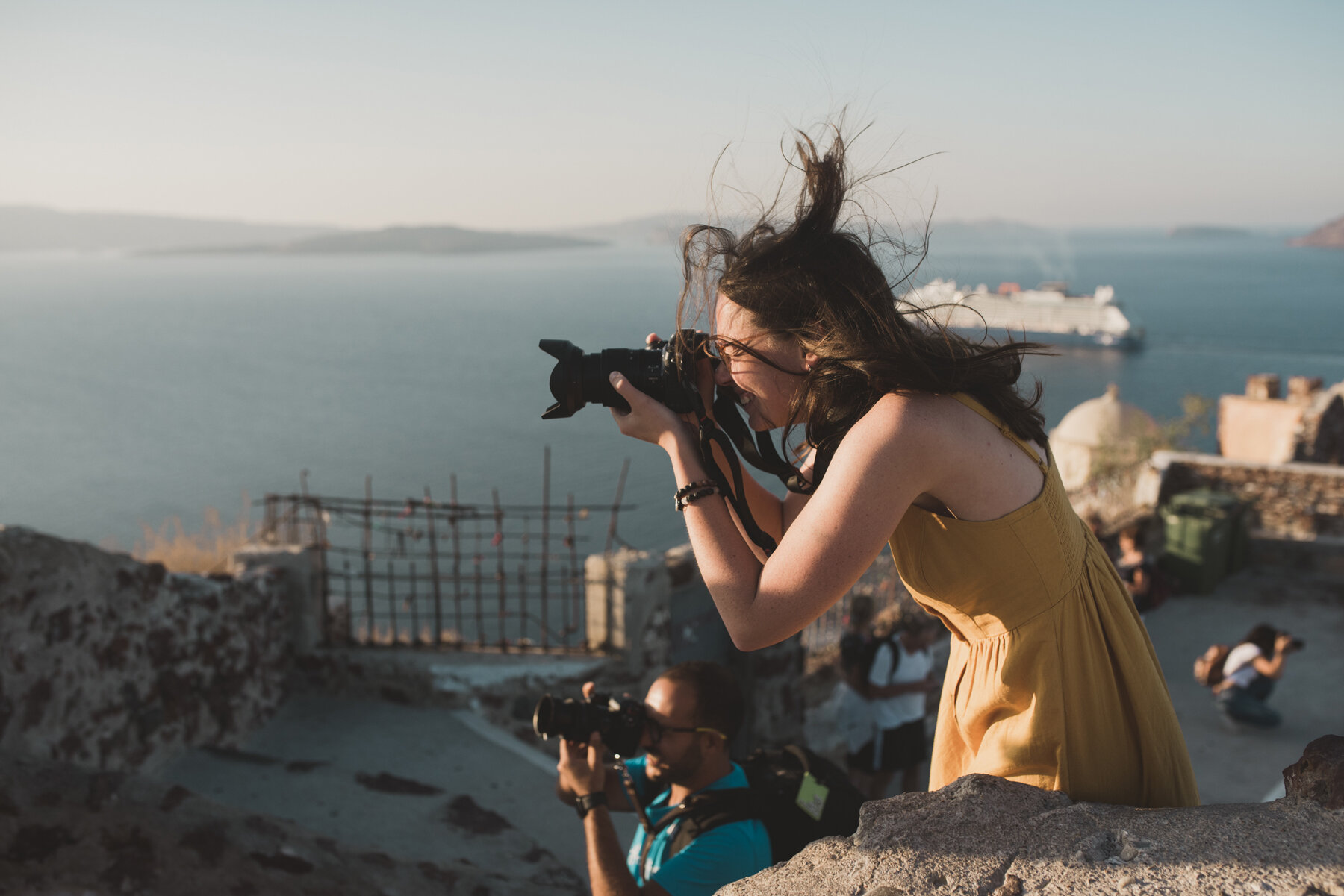 Oia sunrise photographer