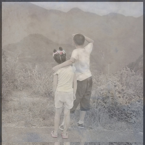 Childhood (2007), variable sizes, pigment print on fine art paper