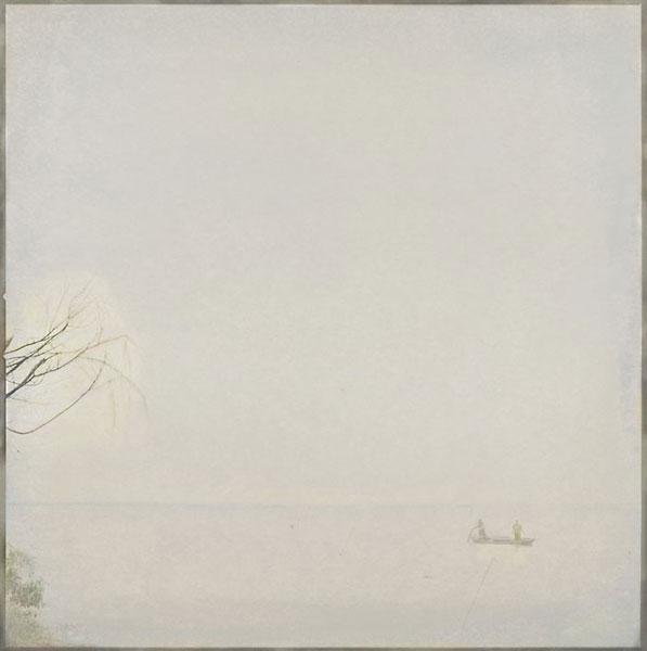 Fishing Boat on Dianshan Lake, (2004/2010), variable sizes, pigment print on fine art paper