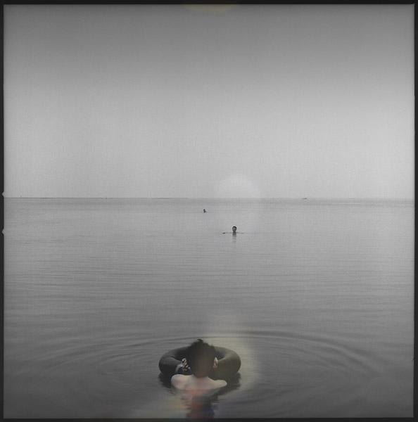 Three Men on the Lake (2004/2007) vairble sizes, archival pigment print on fine art paper