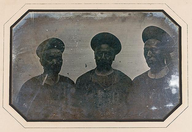 Grands mandarins de Canton, 21 novembre 1844, daguerréotypie