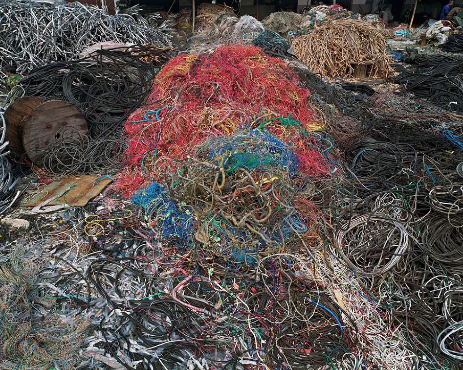 China Recycling #7, Wire Yard, Wenxi, Zhejiang Province, 2004