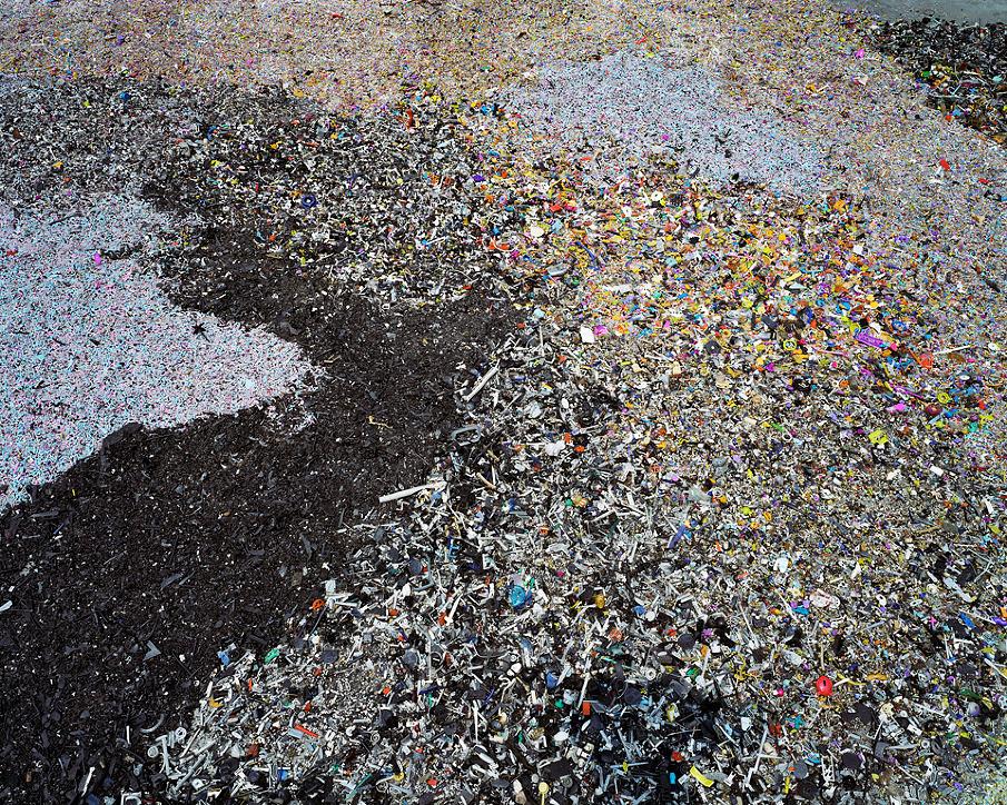 China Recycling #8, Plastic Toy Parts, Guiyu, Guangdong Province, 2004
