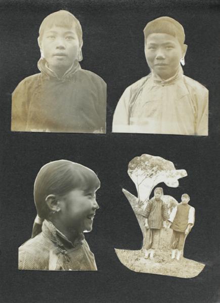 Women and girls, Taihu region west of Shanghai, c. 1923-1925