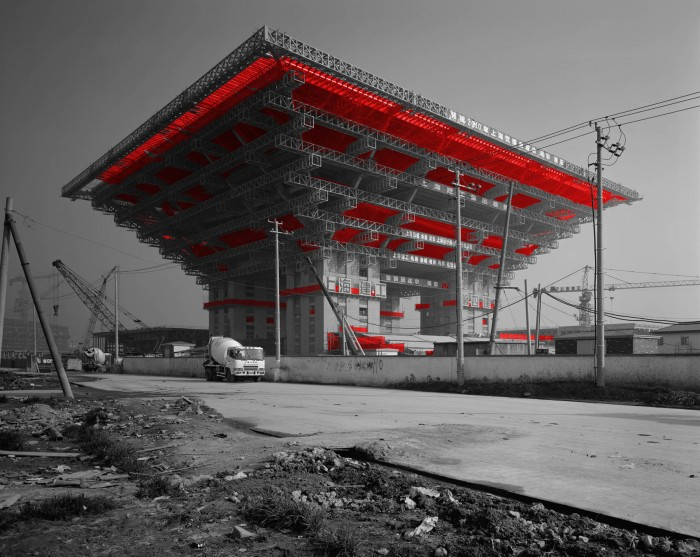 The Red and the Black - 68, Expo 2010 Shanghai, 2009, Digital C-print