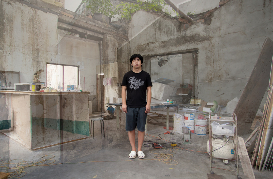 Su Chang, Workshop, Wenghan road / Zhongshanzhonglu, Songjiang - August 2012