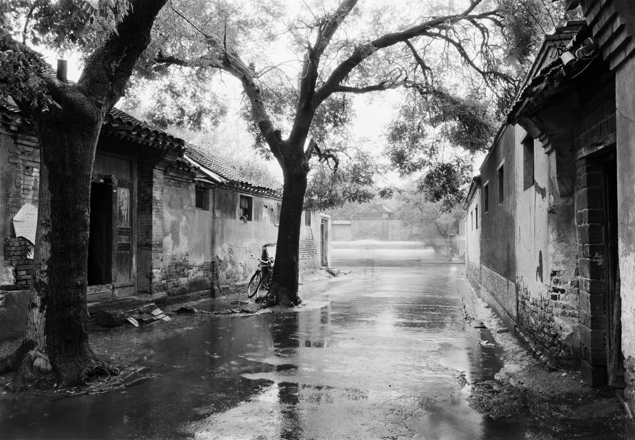Willow Alley Hutong (1989) | Courtesy of Hua Gallery