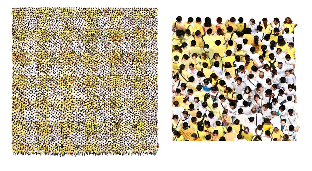 We Yellow, 80 x 80 mm, 2013