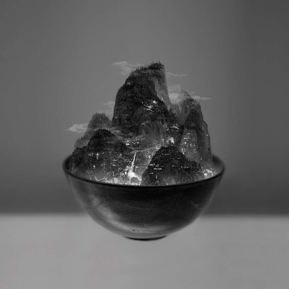 A Bowl of Taipei No.3, 2012, 150 x 150 cm, Epson Ultragiclee print on Hahnemühle Traditional Photo Paper