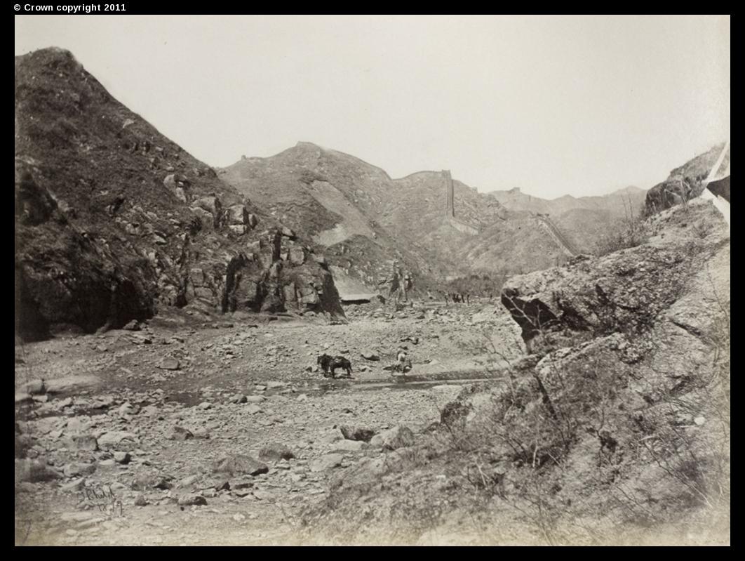 The Great Wall of China, Nankou Pass, 1877