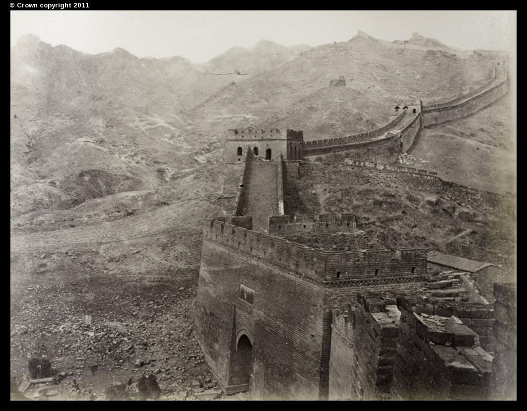 The Great Wall of China at Badaling, 1877