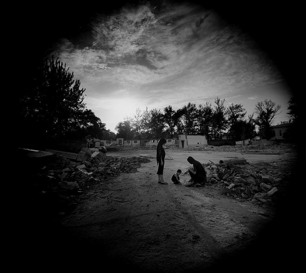 Three Shadows, No.2, 2006