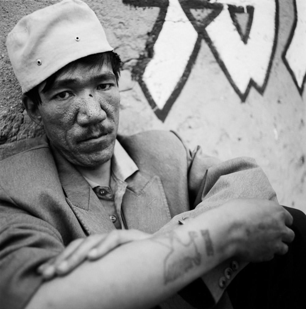A Muslim Drug Dealer, Xihaigu, Ningxia Province, 1996, Archival inkjet print