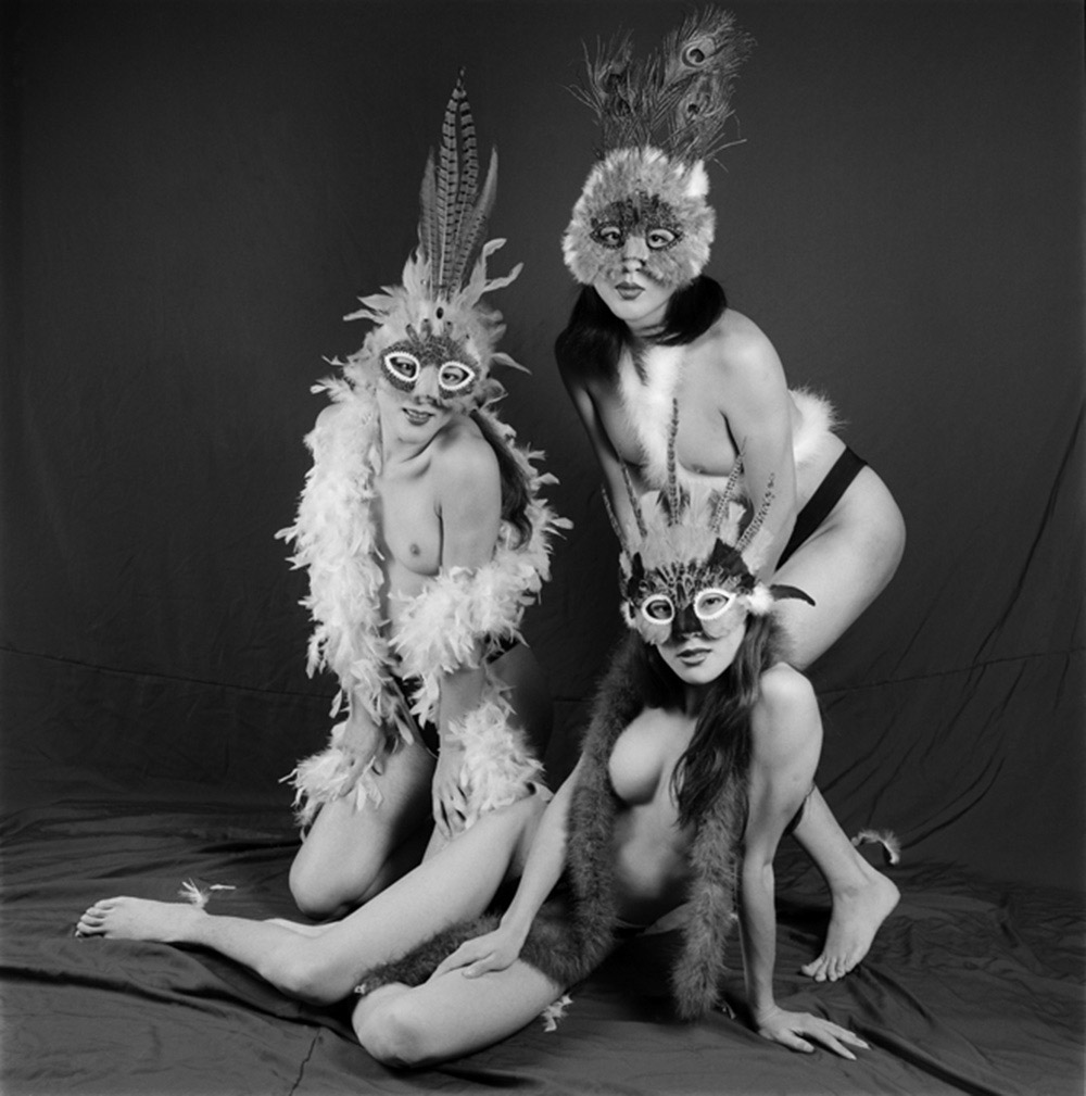 Three Transsexual Males, Shenzhen, Guangdong Province, 1999, Archival inkjet print