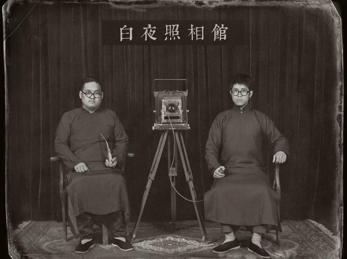 Portrait of Yang Wei and Wang Xu, founders of the White Night Studio