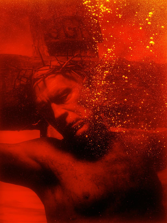 "Sandro Miller, ""Andres Serrano / Piss Christ (1987)"", 2014, pigment print"