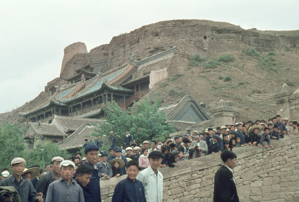 View of Yungang grottoes © Solange Brand