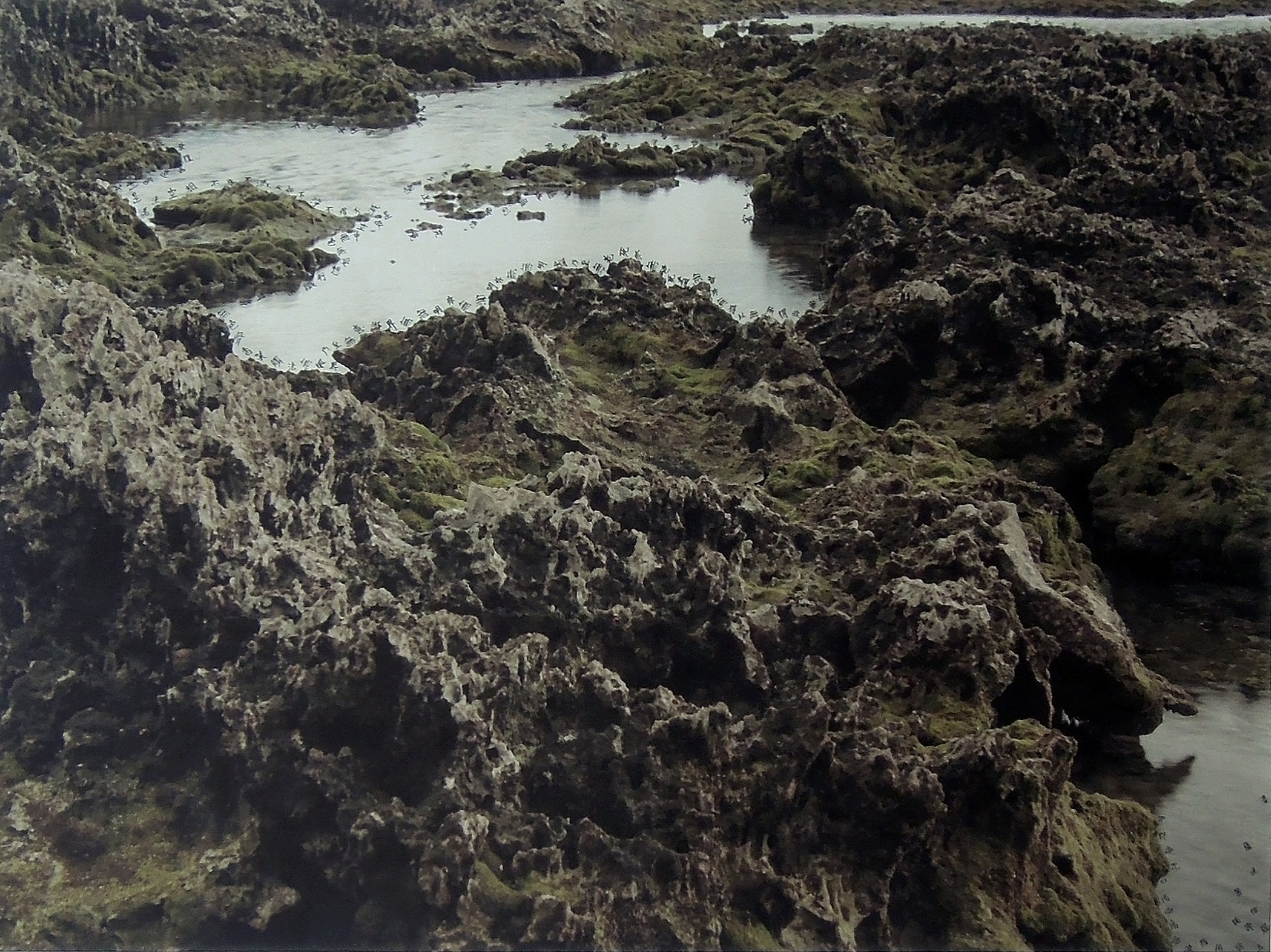 2012, Lanyu VII, hand inscribed photograph, 120x150 cm
