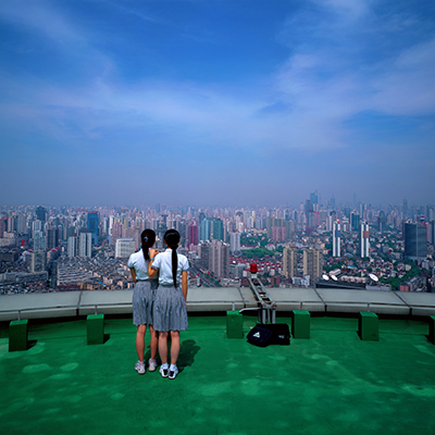 Weng Fen, Bird's eye view, Shanghai, 2004.jpg