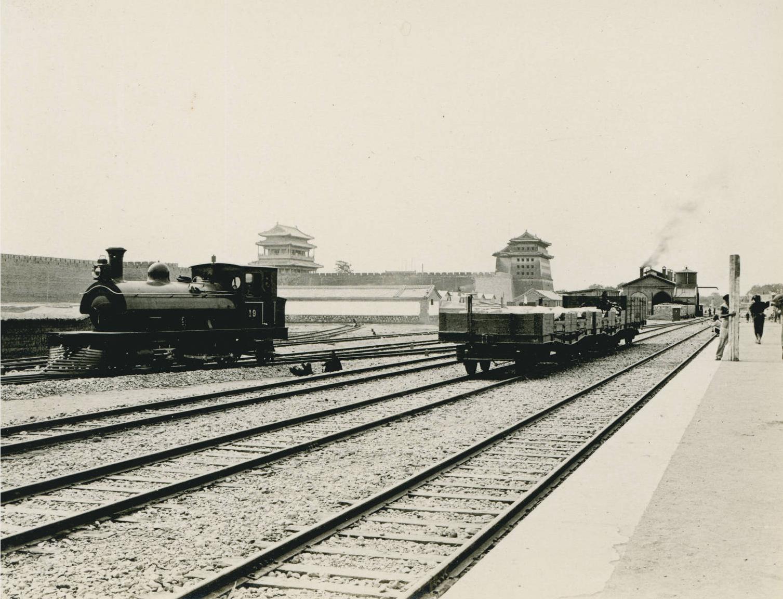 Hsichihmen station, Peking Peking Kalgan railroad, 1909-05