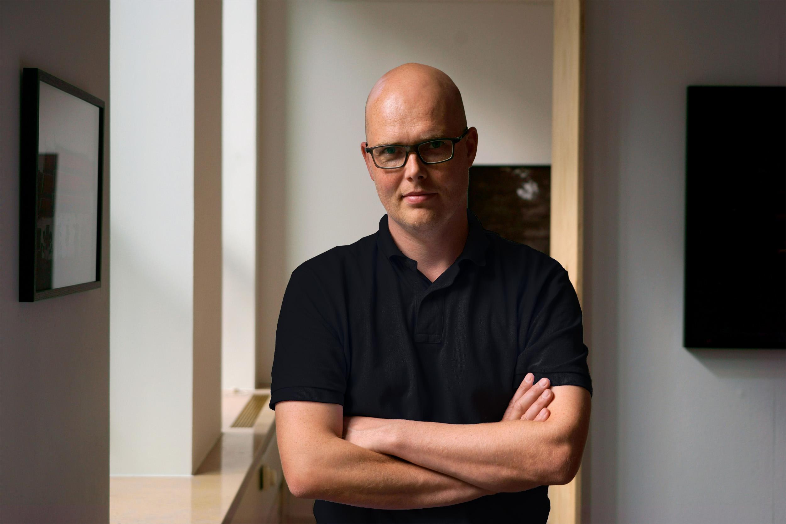 Portrait of Alex Lebbink