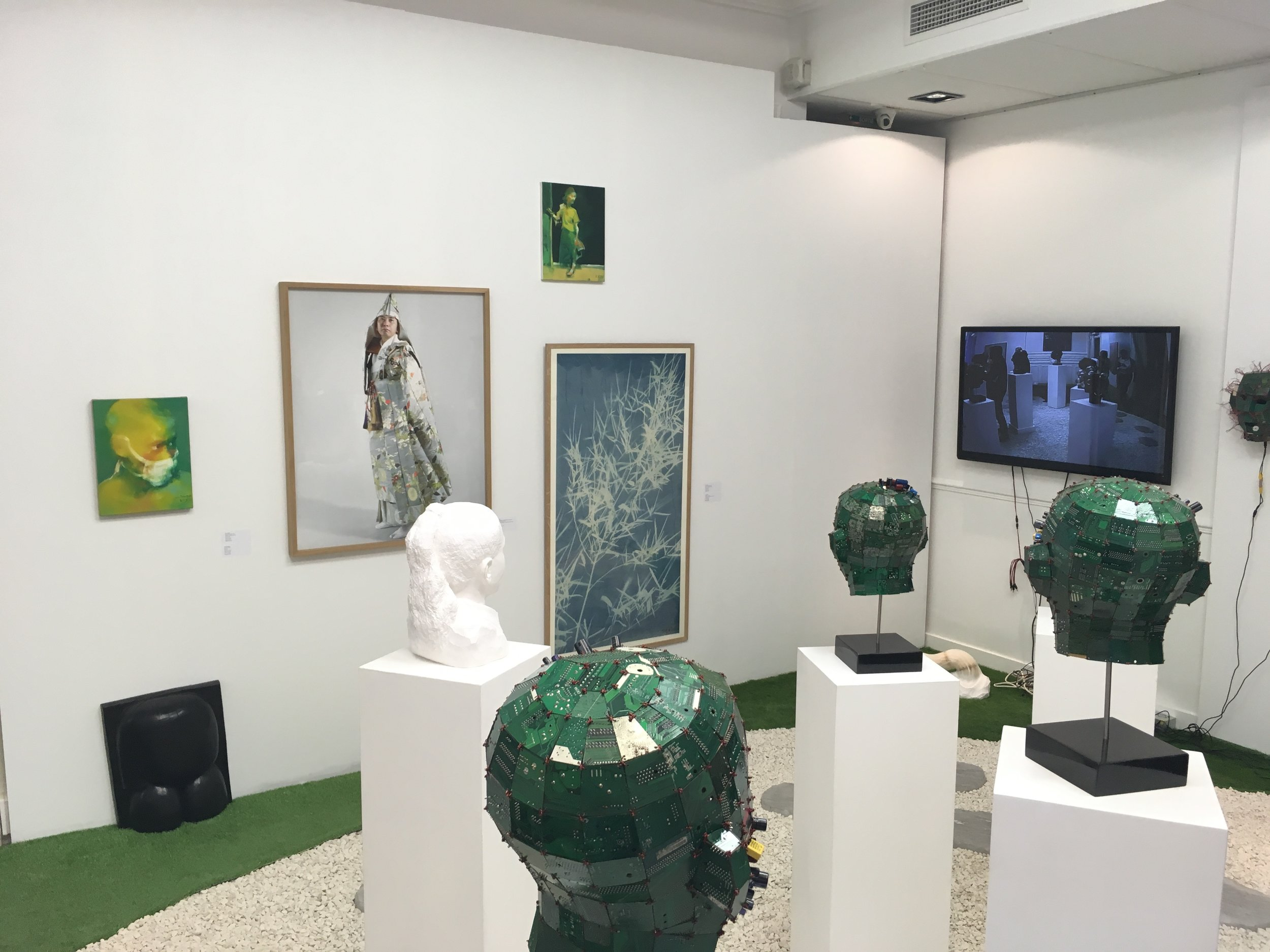 Magda Danysz Gallery booth, exhibition view