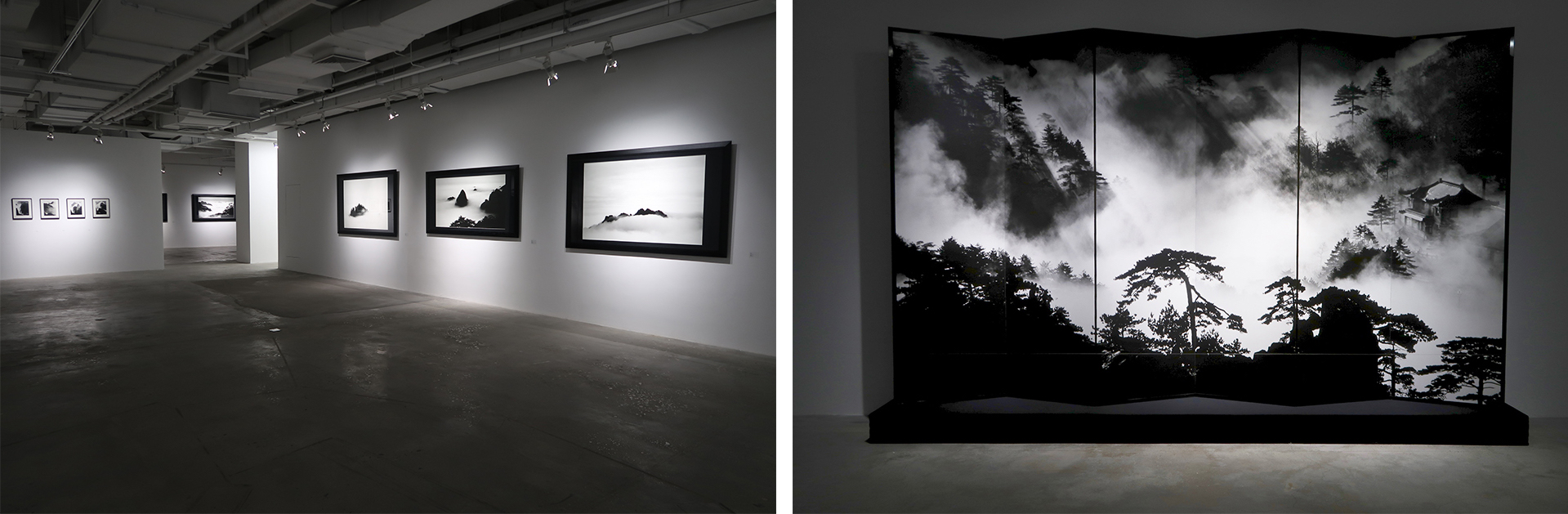 Wang Wusheng's works at Three Shadows Xiamen Photography Art Centre, exhibition view © Marine Cabos