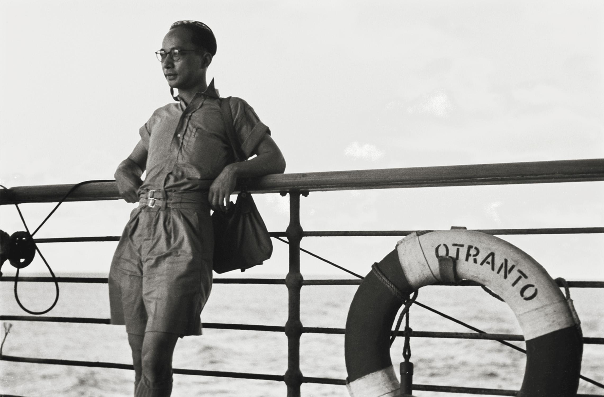 回家, Going home, 1946 / Courtesy of Jin Hua