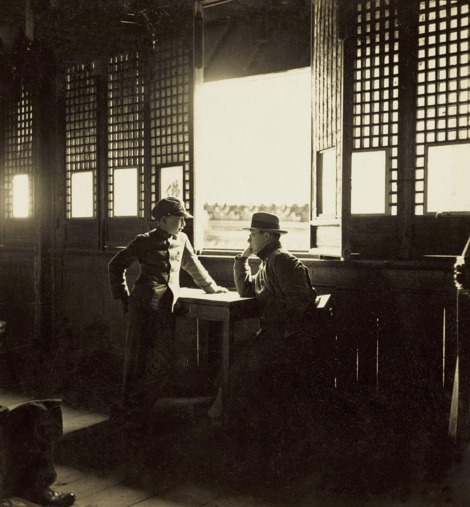 扬州大明寺, Daming Temple in Yangzhou, 1935 / Courtesy of Jin Hua