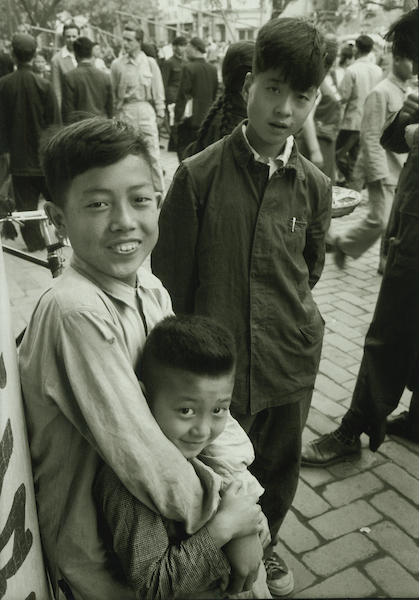 Peking boys in Wang Fu Chin, Peking | Courtesy of Tom Hutchins Images Ltd., New Zealand
