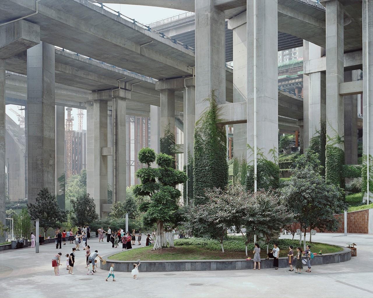 Egongyan Park, Chongqing, China, Forest series (2010-2017) ©  Yan Wang Preston