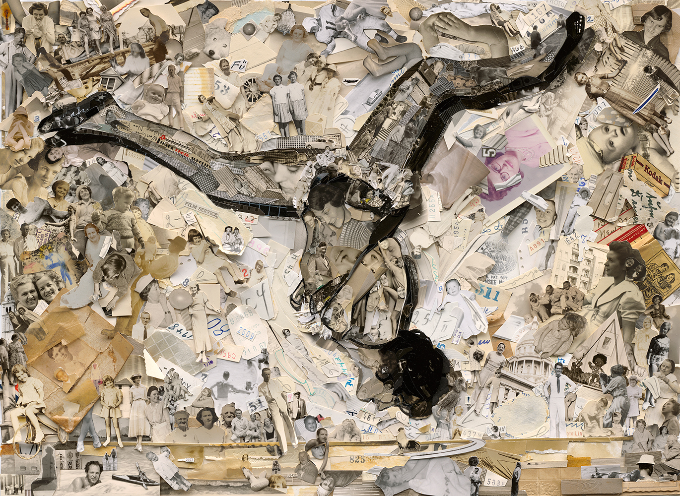 © VIK MUNIZ, Flip (Album), 2014. Courtesy of Matthew Liu Fine Arts (Shanghai)