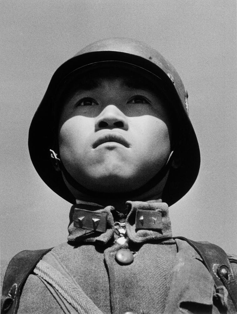 Robert Capa, 'Boy soldier', Hankou, China, March 1938. © Robert Capa and International Center of Photography/Magnum Photos