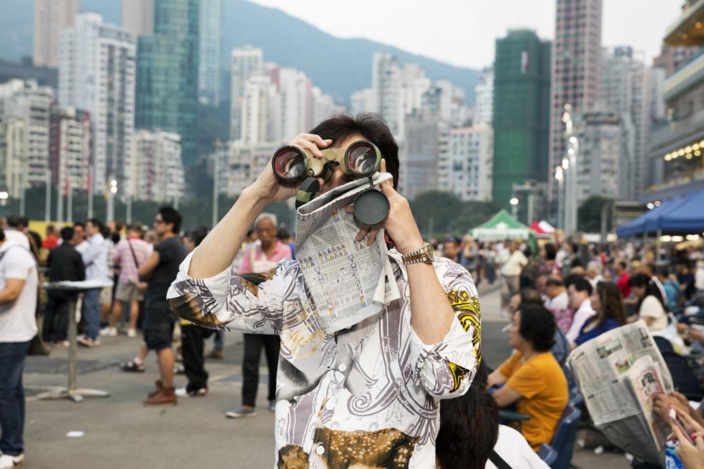 Martin Parr, 'Happy Valley Racecourse', Hong Kong, 2013. © Martin Parr/Magnum Photos