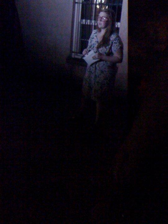 Ghost Tour, 2011, Savannah, GA.
