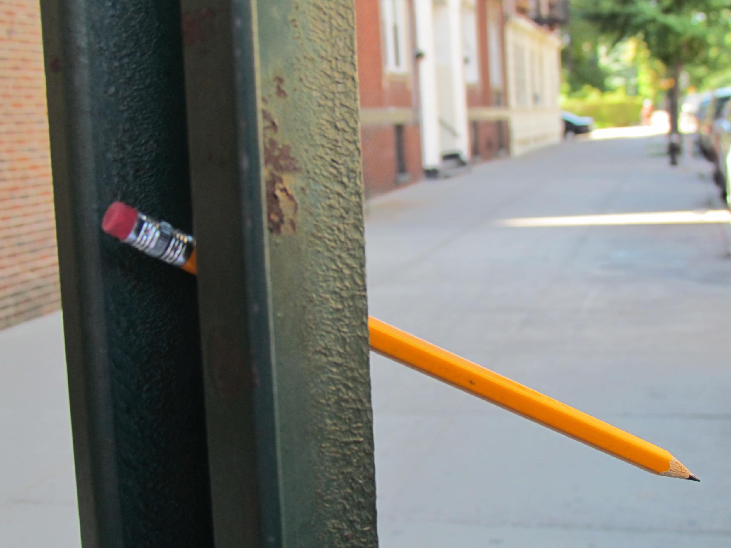 Sharpened Pencils, 2011, New York City