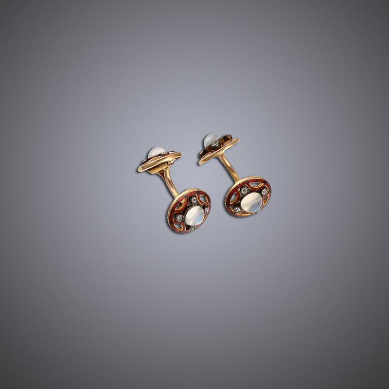 Art Nouveau Cufflinks