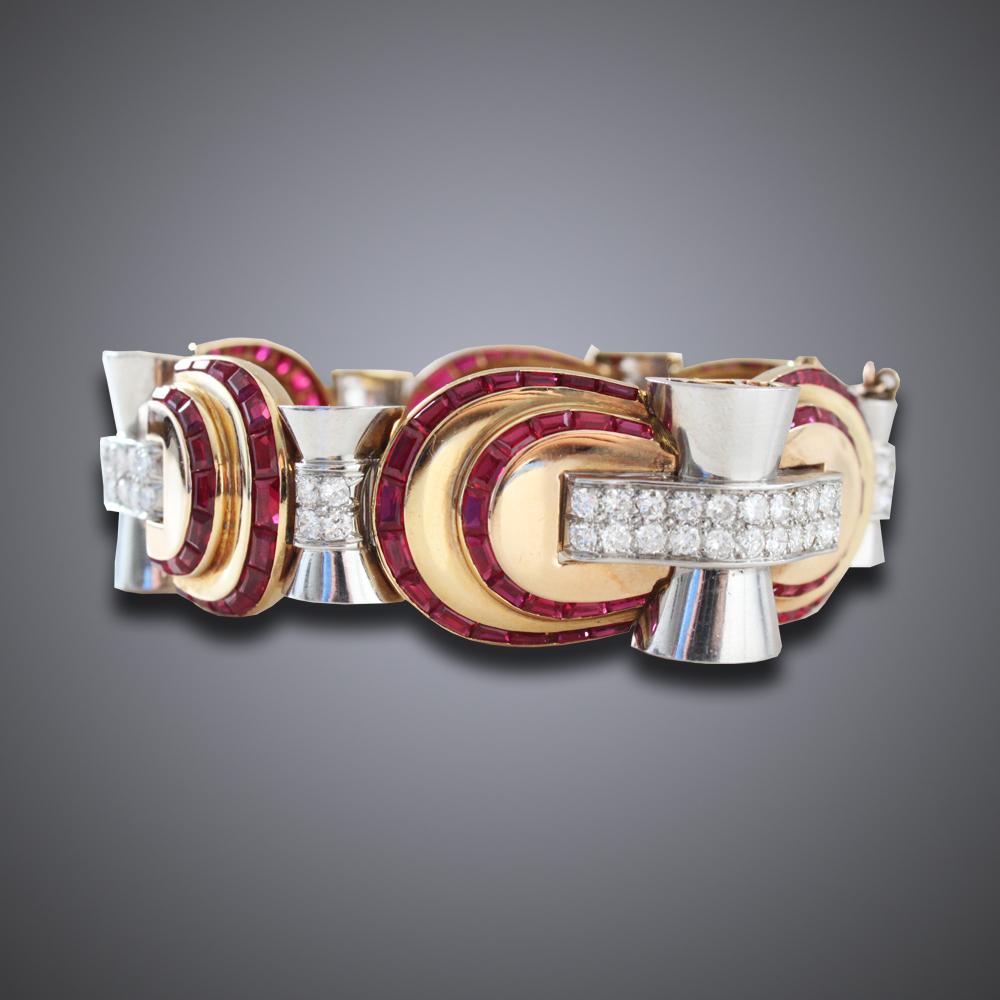 Retro Tourbillion Bracelet