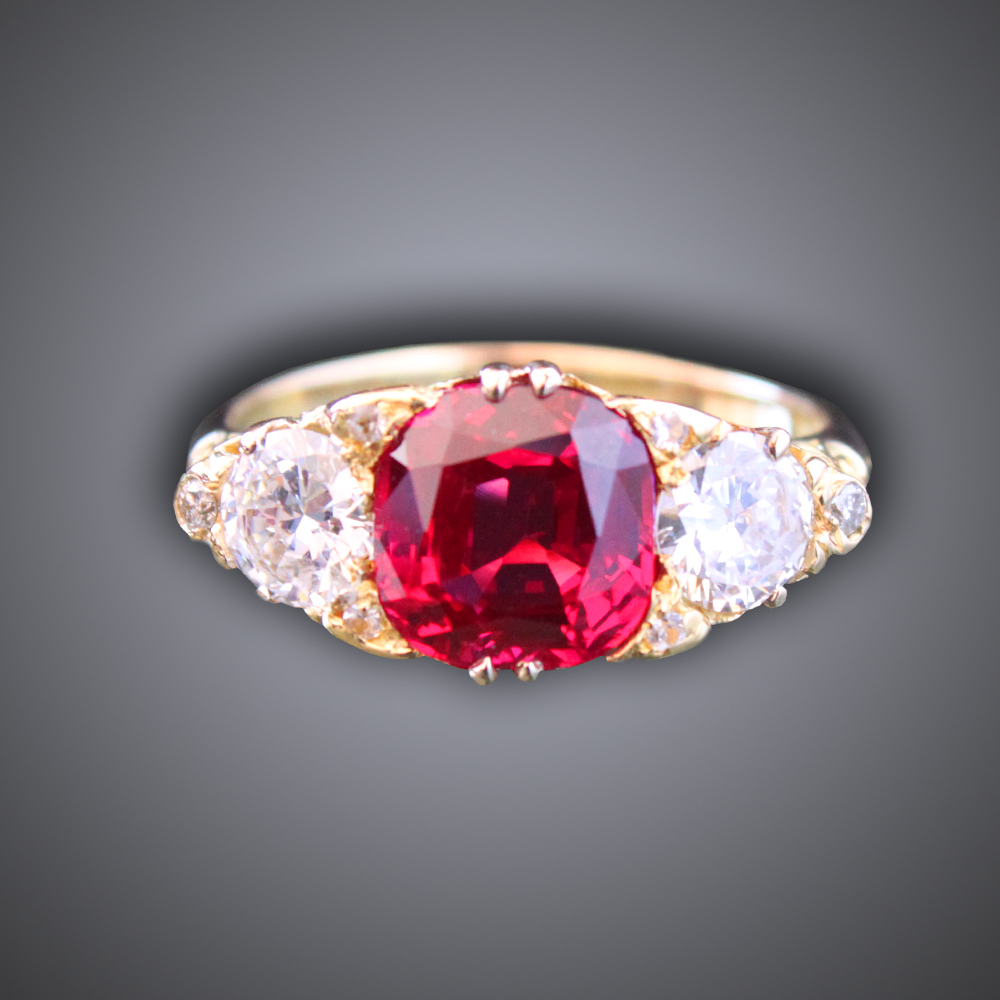 Victorian Spinel Ring