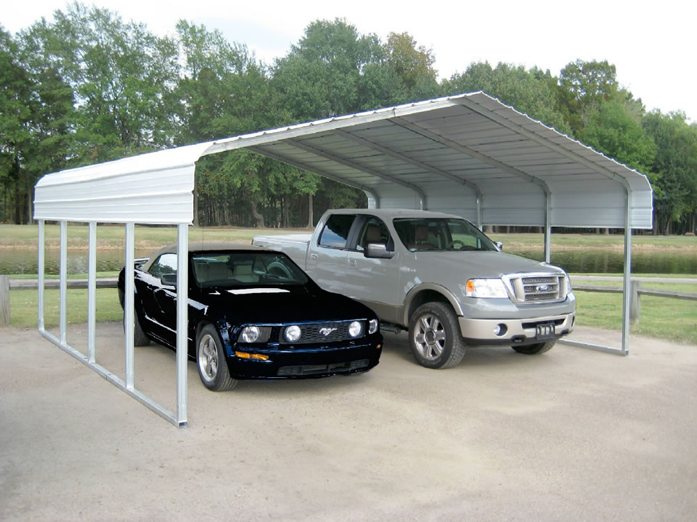 22x24x12 steel car port with 2 vehicles.jpg