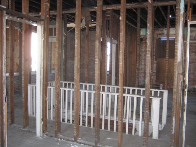 Upstairs Stair rail .JPG