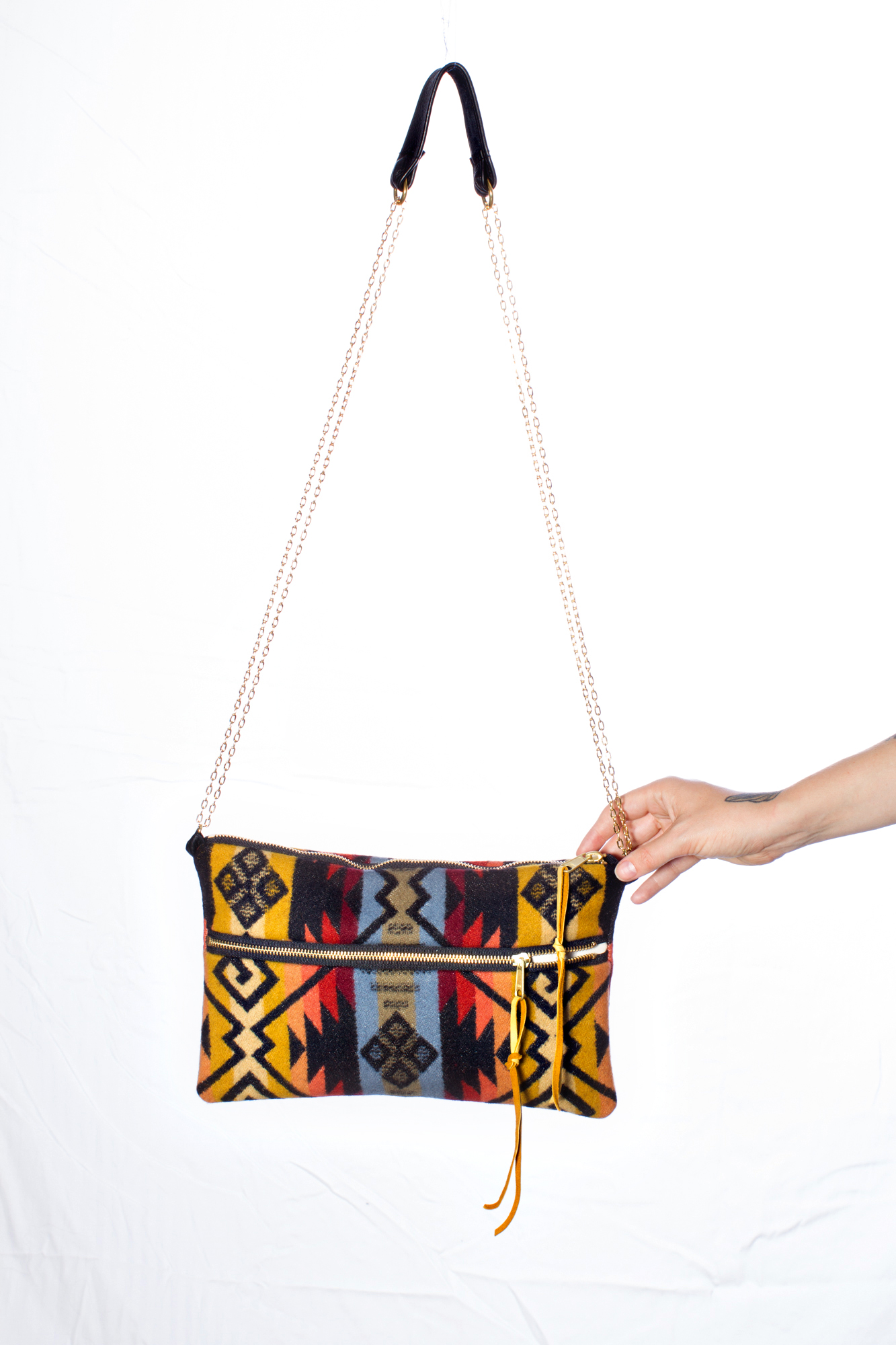 the new double chain shoulder bag in hendrix, coming soon!