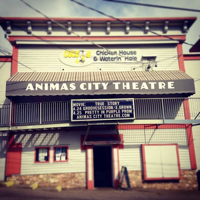 Headlining a night in Durango, CO at the Animas City Theatre!