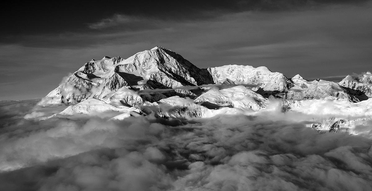 Denali In the Clouds