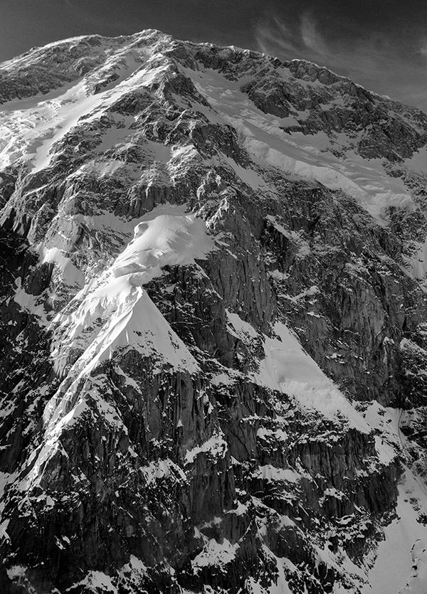 The Cassin Ridge