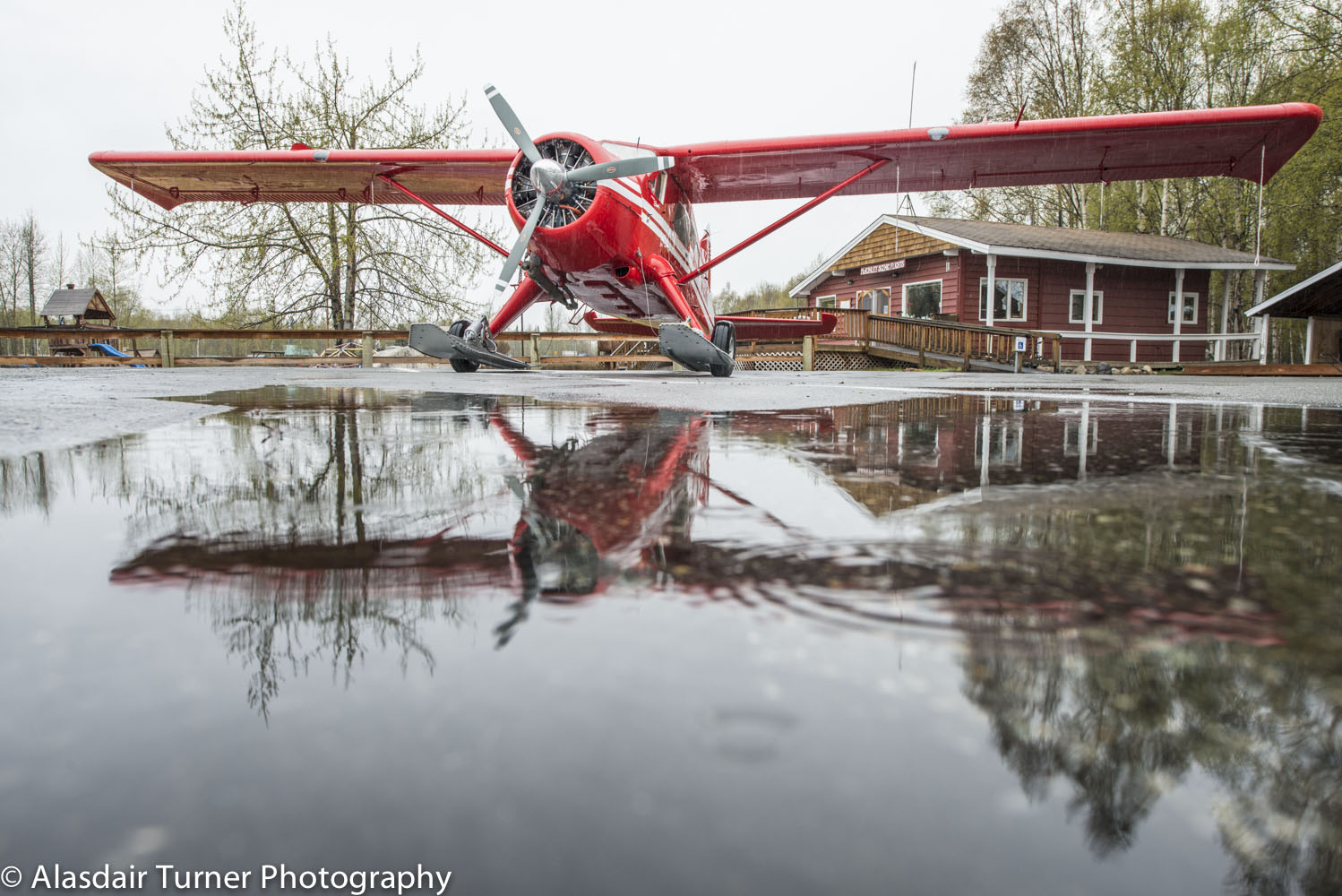 The story of my week.  Most of my time in Talkeetna was spent watching it rain.