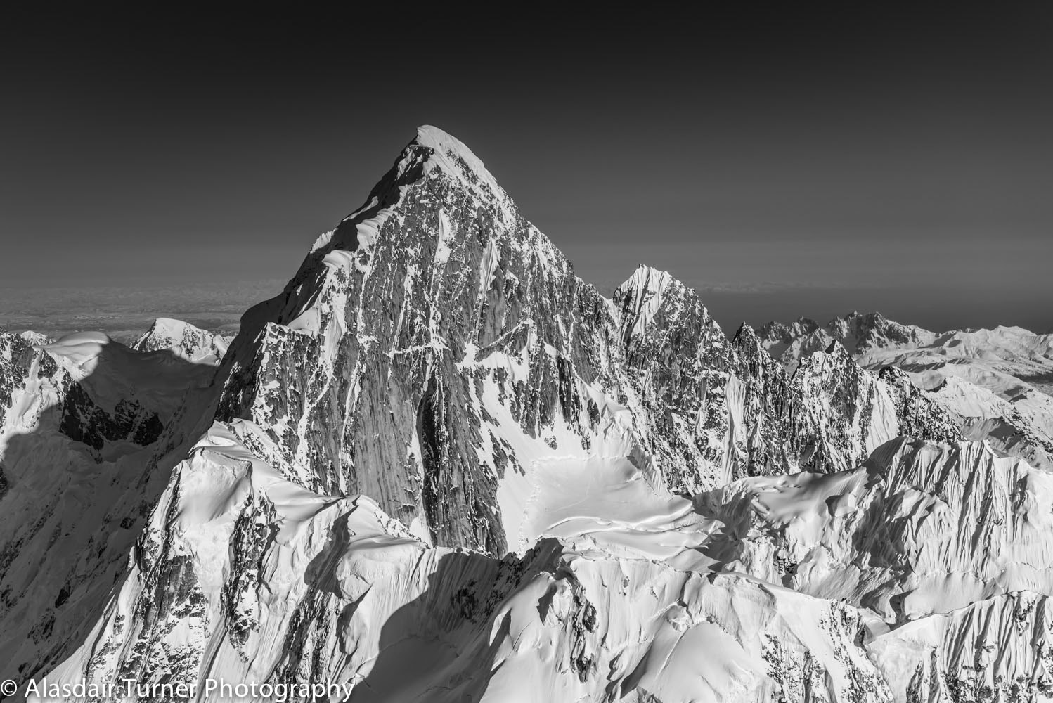 Mount Huntington.  Click on the image to purchase.